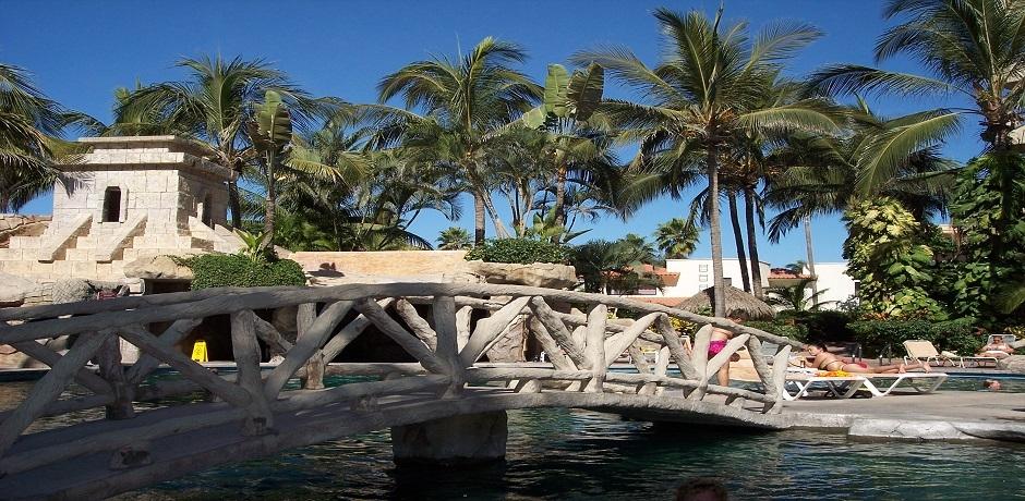 Pool at Hotel in Puerto Vallarta, 2008